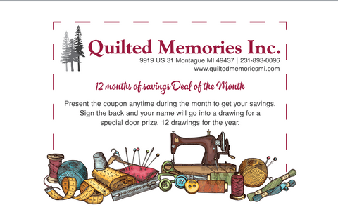12 months of savings Deal of the Month