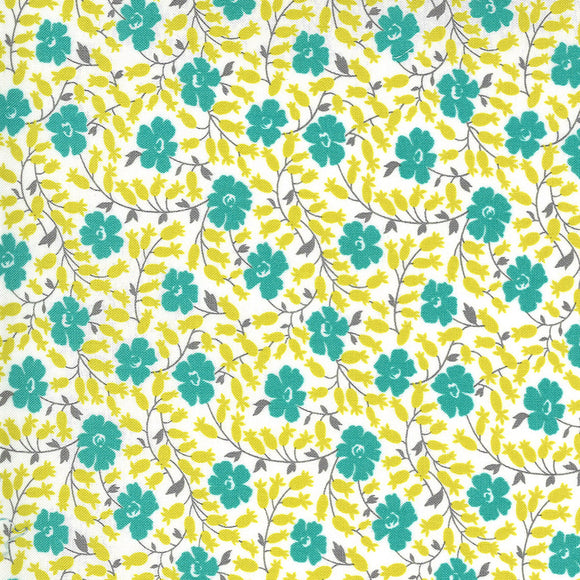 23333 11 CLOUD POND/FLOWERS FOR FREYA/by Linzee Kull McCary for Moda Fabrics