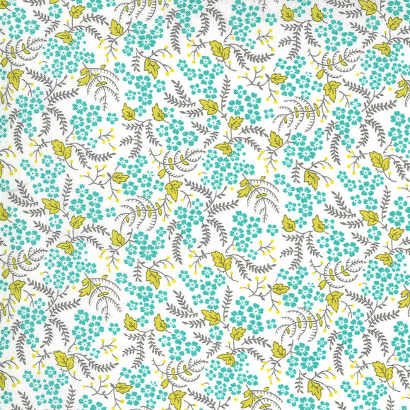 23336 11 CLOUD POND/FLOWERS FOR FREYA/by Linzee Kull McCary for Moda Fabrics