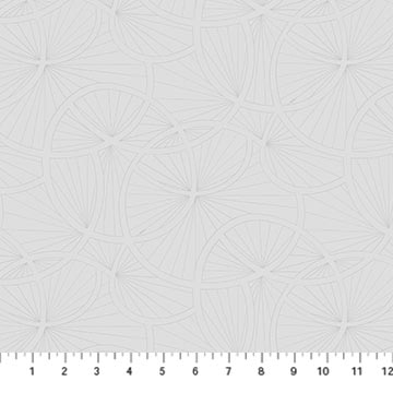 23915 92 SIMPLY NEUTRAL 2/Abstract Lily/by Deborah Edwards for Northcott Studio