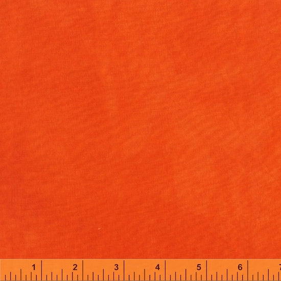 37098 77 PALETTE SOLIDS Tangerine/by Marcia Derse for Windham Fabrics