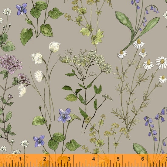 52316 3 STONE-Meadow Sweet-MIDSUMMER/by Hackney and Co for Windham Fabrics