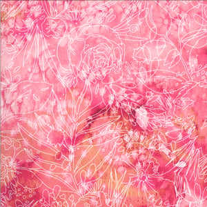 8447 13D Fuchsia-Moody Bloom Digital/by Create Joy Project for Moda Fabrics