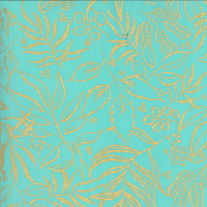 8449 19M Moody Bloom Metallic Jade Moda by Create Joy Project
