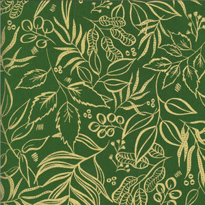8449 37M Moody Bloom Metallic Jungle Moda by Create Joy Project