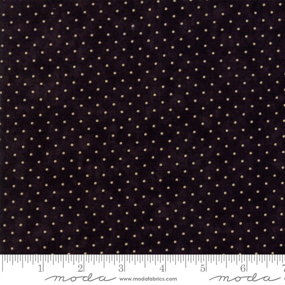 8654 28 ESSENTIAL DOTS/BLACK/by Moda Fabrics