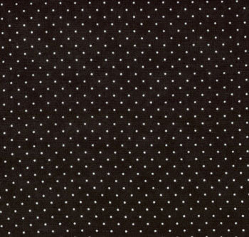 8654 41 ESSENTIAL DOTS/JET BLACK/by Moda Fabrics