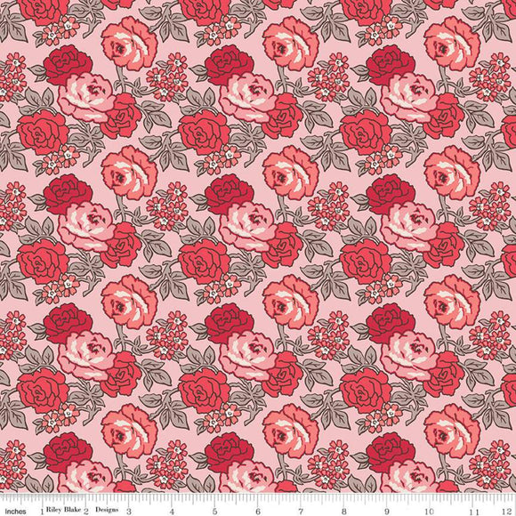 C10210 ROSES FROSTINGS/Flea Market/by Lori Holt for Riley Blake Designs
