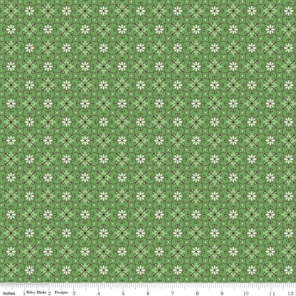 C10214 WALLPAPER CLOVER/Flea Market/by Lori Holt for Riley Blake Designs