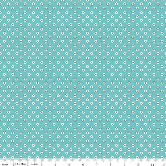 C10215 POLKA COTTAGE/Flea Market/by Lori Holt for Riley Blake Designs