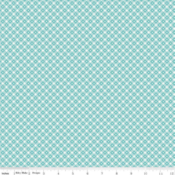 C10221 BASKET WEAVE COTTAGE /Flea Market/by Lori Holt for Riley Blake Designs