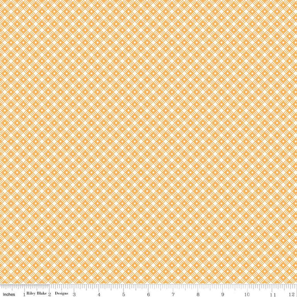 C10221 BASKET WEAVE DAISY/Flea Market/by Lori Holt for Riley Blake Designs