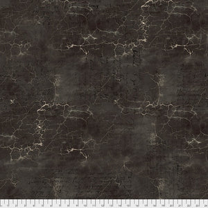 PWTH128.BLACK CRACKED SHADOW/ABANDONED/by TIM HOLTZ/FREESPIRIT FABRICS
