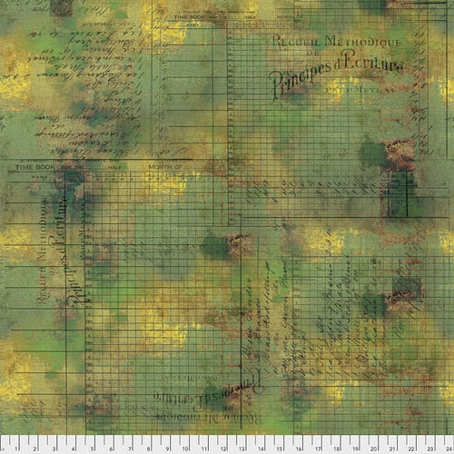 PWTH132.MOSS PRINCIPAL METHODS/ABANDONED/by TIM HOLTZ/FREESPIRIT FABRICS