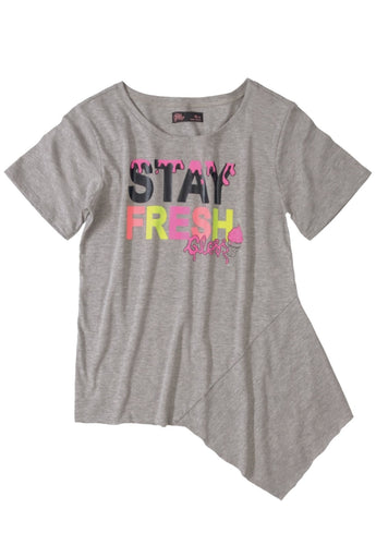 Blusa Teen Gloss Stay Fresh