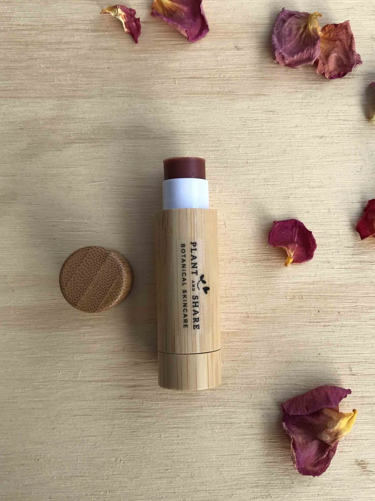 Wineberry Kissed Lip Balm - Bamboo