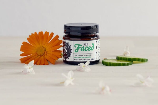 Fresh Faced Cucumber & Jasmine Moisturiser Normal/Combination 50ml