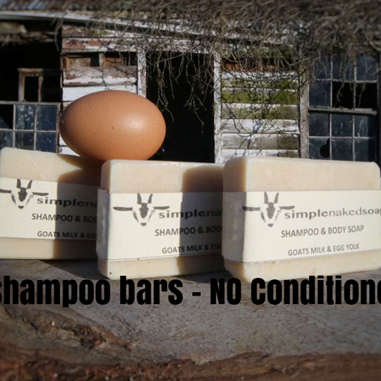 Goats Milk Egg Yolk Shampoo Bar