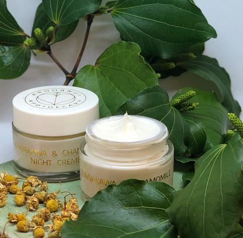 Kawakawa and Chamomile Night Cream