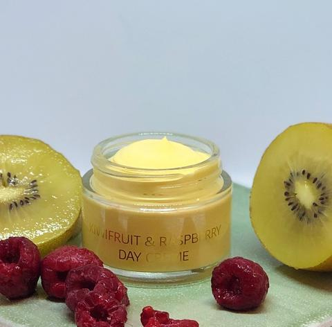 Kiwifruit and Raspberry Day Cream