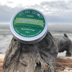 Natural Peppermint Cream Foot Deodorant