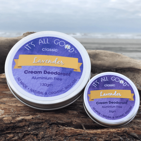 Natural Cream Deodorant - Lavender