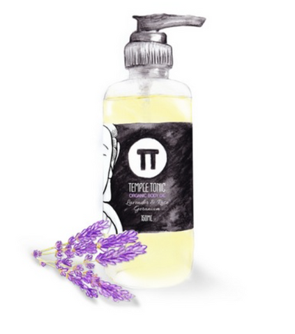 Lavender & Rose Geranium Organic Body Oil