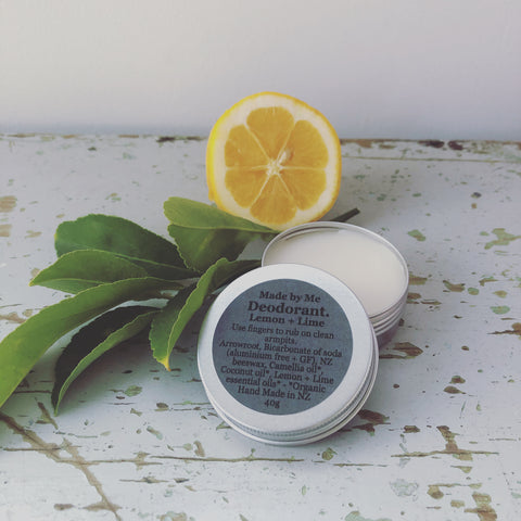 Deodorant Rub - Lemon & Lime