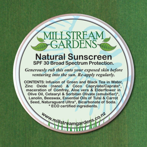 Natural Sunscreen SPF 30
