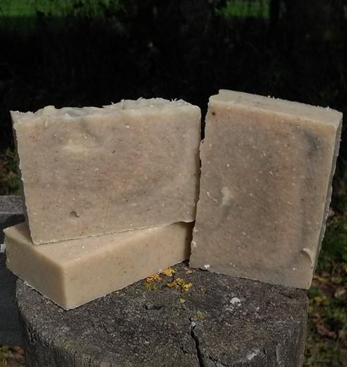 Goats Milk Avocado & Oatmeal Soap