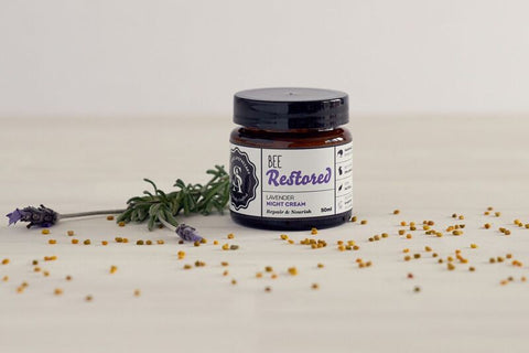 Bee Restored Lavender Night Cream Repair & Nourish 50ml