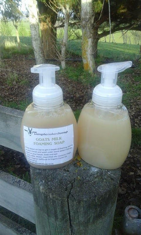 Goats Milk & Tea Tree Foaming Handwash