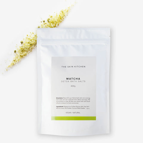 Matcha Detox Bath Salts 400 g