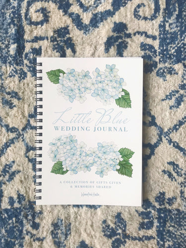 Little Blue Wedding Journal