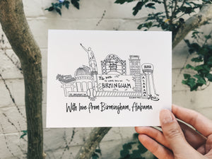 Notecard | With Love from Birmingham