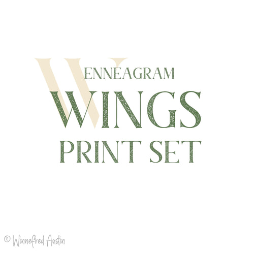 Enneagarden Wings - Set of 2 - 8x10 Prints