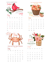 Load image into Gallery viewer, Gift Set - 2020 Seasons of Faith Calendar