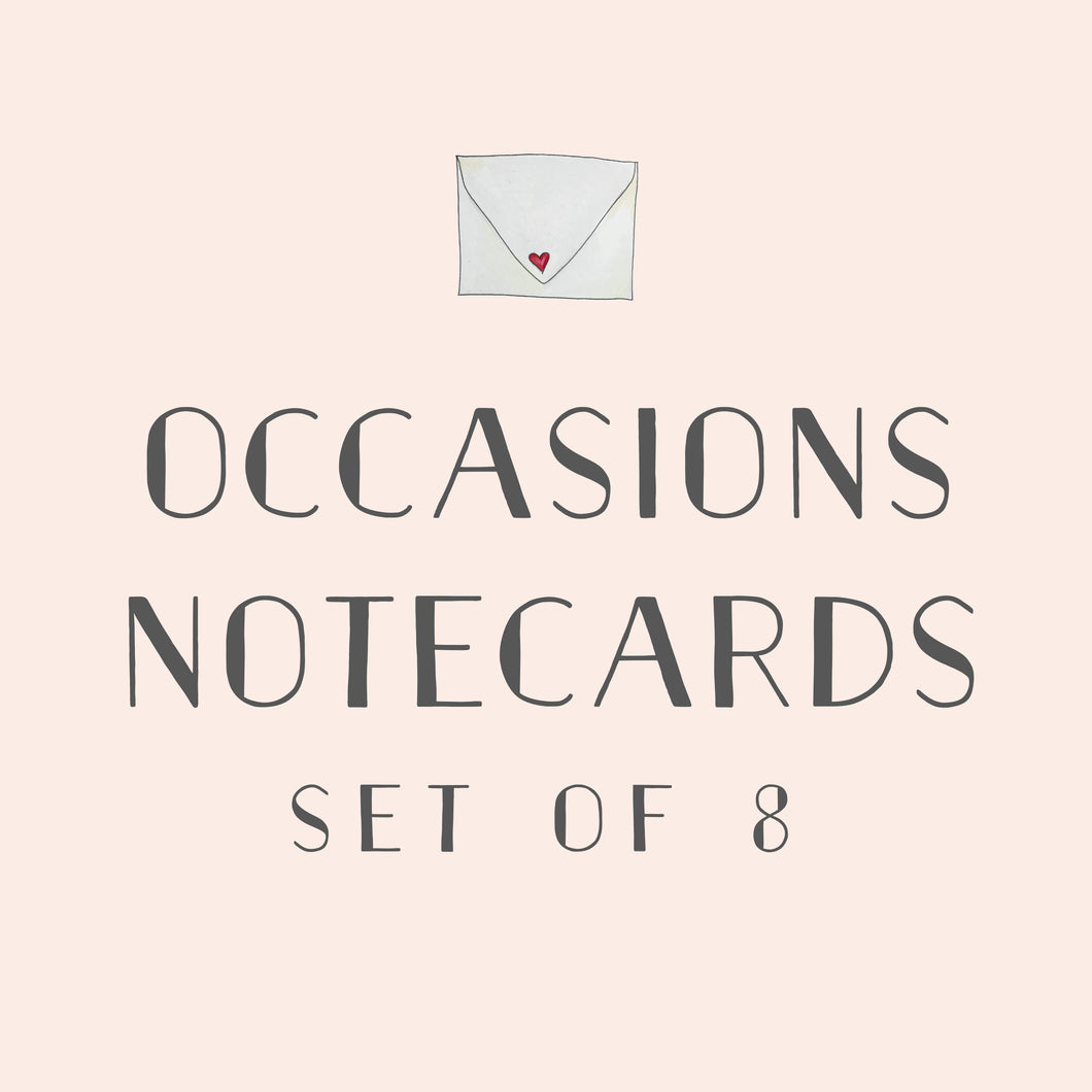 Occasions Notecard Set
