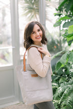 Load image into Gallery viewer, Austin Tote - Light Grey