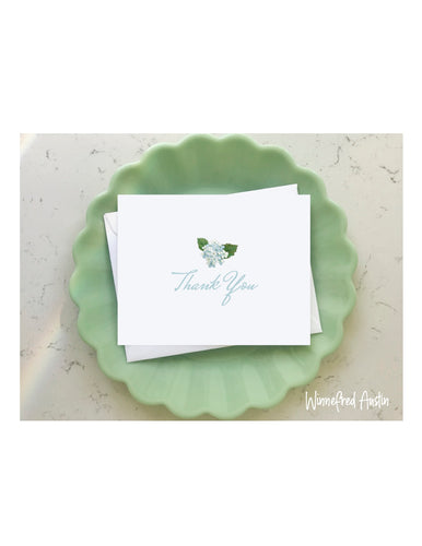 Wedding Notecard Thank You Set