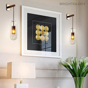 Glass Capsule Drop Wall Lamp