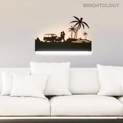 Shadow Art Wall Light