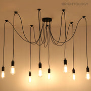 8-Point Industrial Rope Lamp