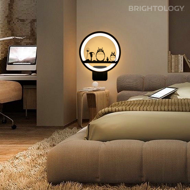 Modern Illustration Wall Lamp