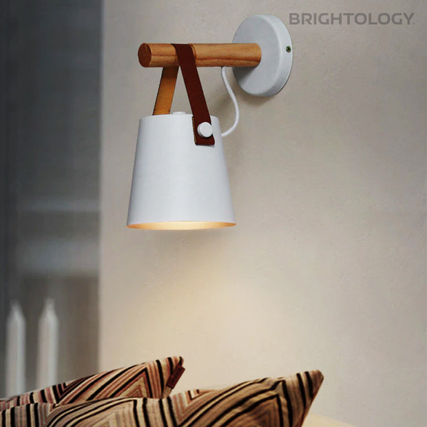 Leather Strap Wall Sconce