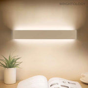 Elongated Solid Bar Wall Lamp