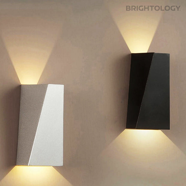 Double Geometric Wall Lamp