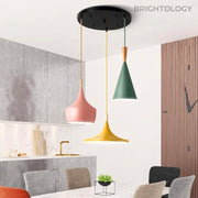 Structured Slope Pendant Lamp