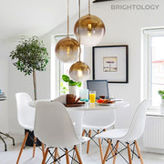 Metallic Gradient Pendant Lamp