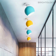 Colorful Dome Ceiling Lamp